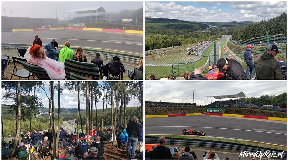 Collage Max Verstappen Spa