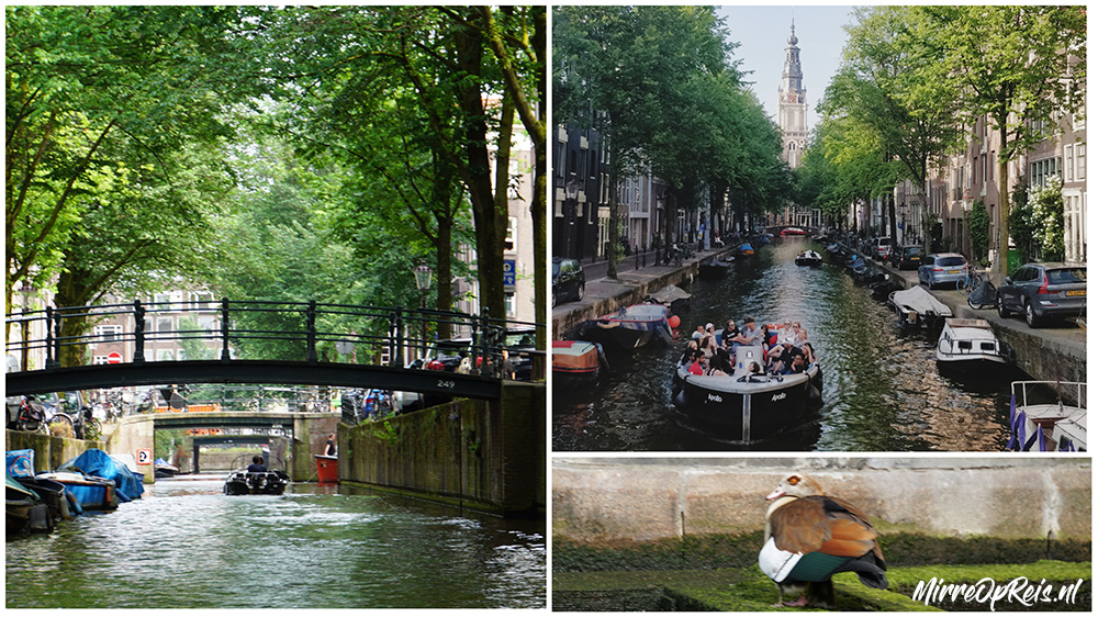 Varen in Amsterdam collage