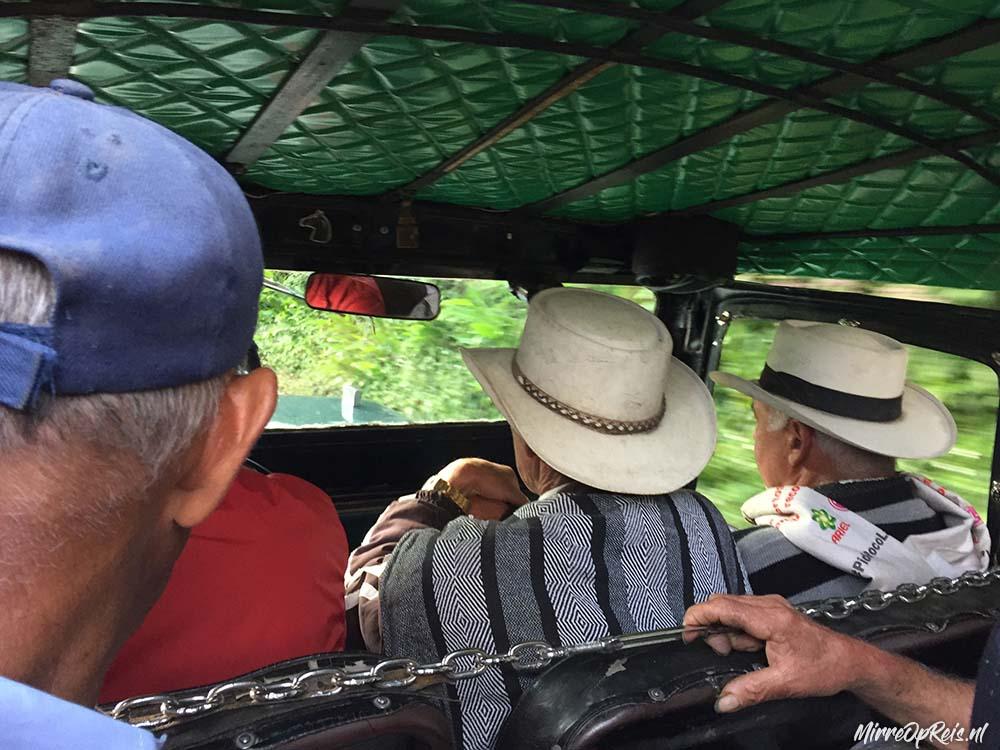 Truck naar Valle de Cocora Colombia copy