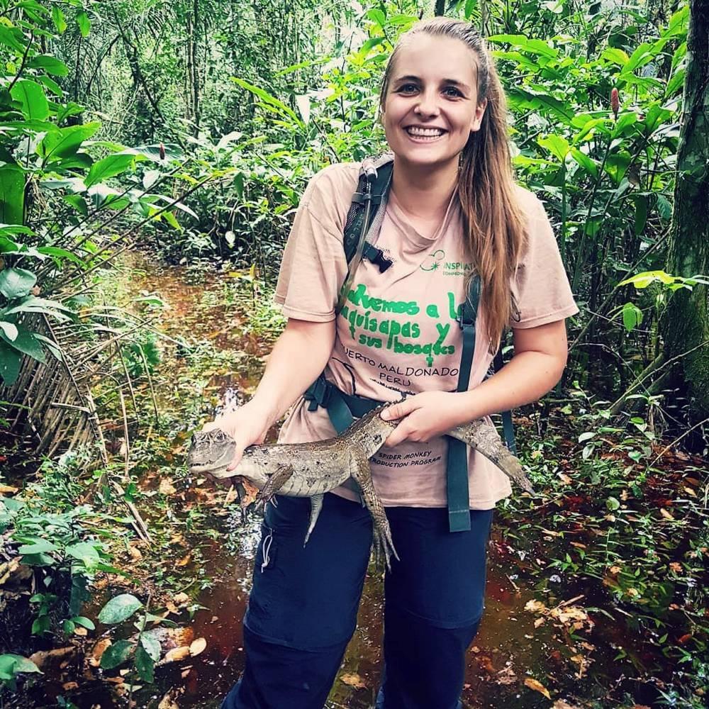 Groeten uit de natuur – Liselot in de Amazone