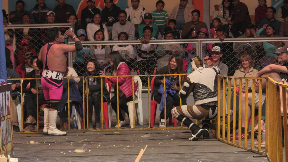 Cholita Wrestling La Paz