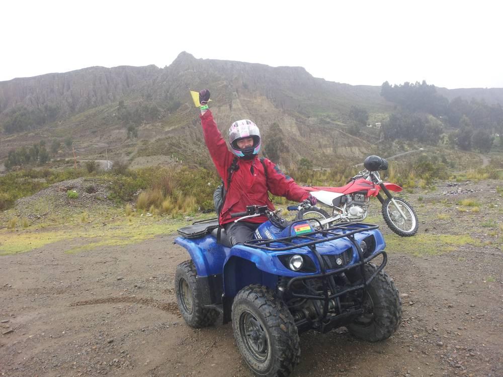 Quad rijden La Paz Maanvallei