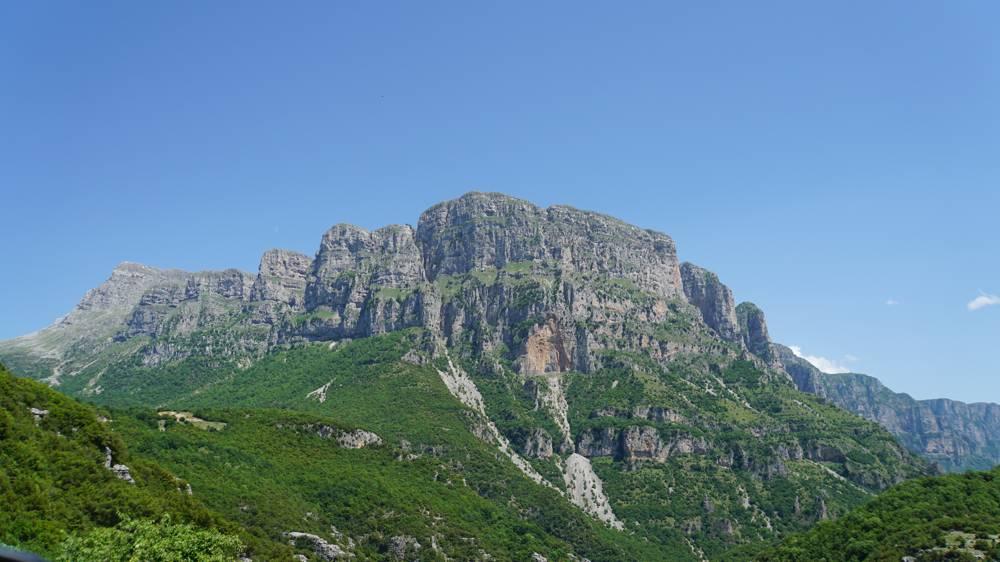 Zagoria Pindos bergen