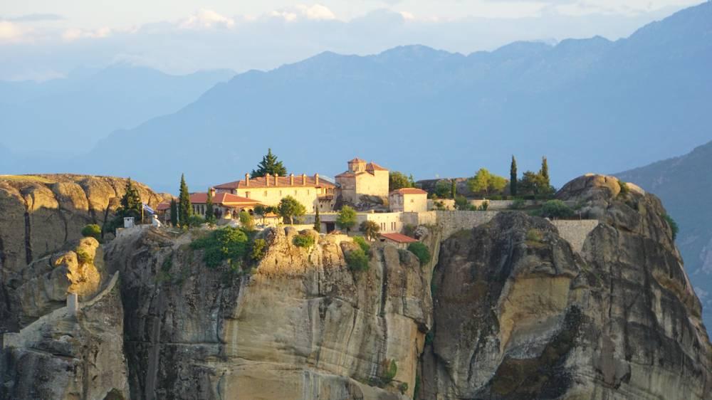 Meteora klooster James Bond