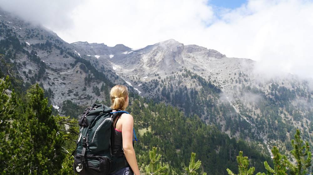 Mirre op de Olympus berg