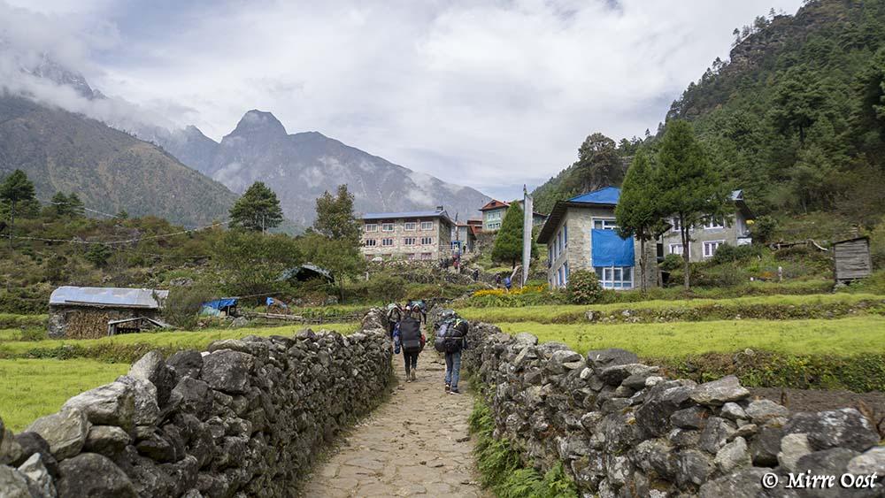 Nepal-137-wandelen-naar-Phakding