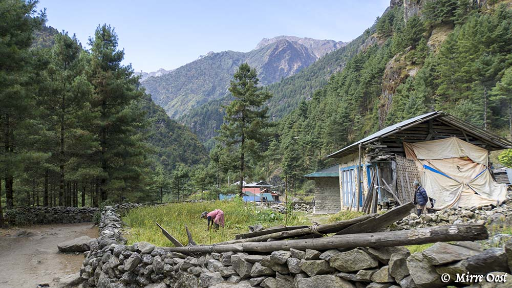 Nepal-185-EBC-vrouw-werkt