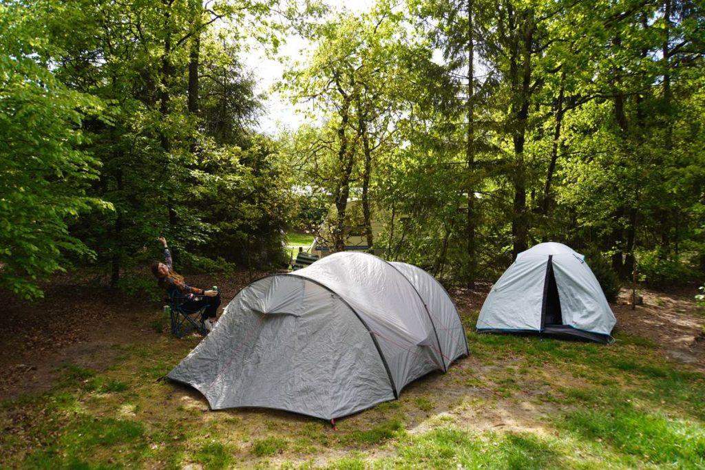 Quechua Black and Fresh tent 003