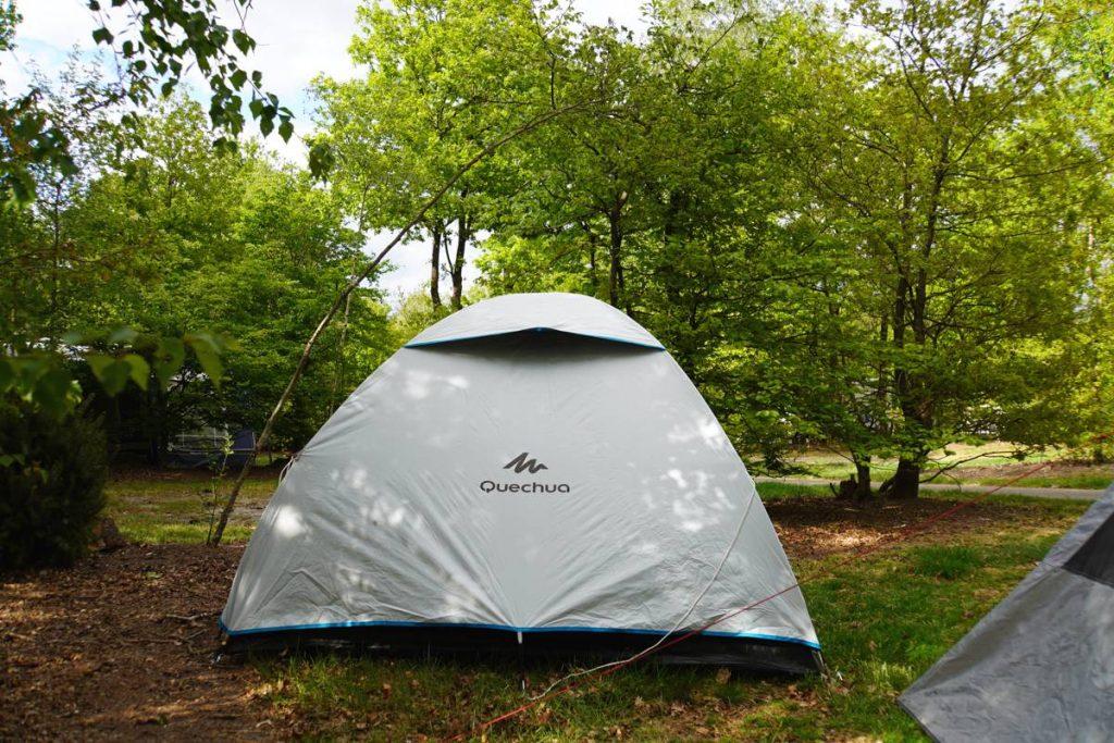 Quechua Black and Fresh tent 001
